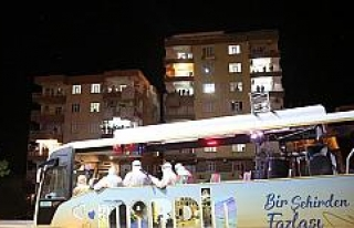 Mardin'de moral konserleri büyük ilgi görüyor