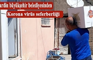 Mardin büyükşehir belediyesinden korona virüs...