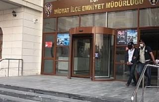 Midyat'ta hırsızlık zanlısı yakalandı