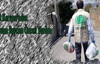 Umut Kervanı'ın dan Ramazan Bayram öncesi yardım