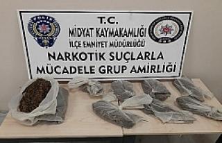 Midyat'ta narkotik ekiplerinden operasyon