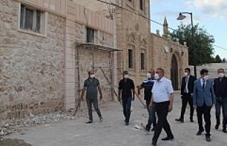Midyat'ta 'Tarihi Sokakları Canlandırma...