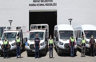 Midyat Belediyesi araç filosunu genişletti