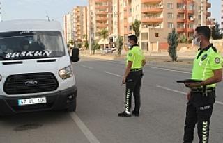 Midyat'ta Polis Denetimleri Artırdı