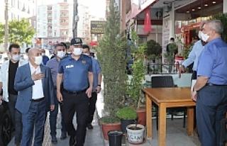 Vali Demirtaş'tan Koronavirüs Denetimi