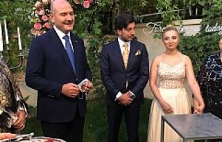 Bakan Soylu, Miroğlu ve Özdemir Ailelerinin Nişan...