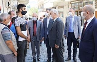 Bakan Yardımcısı Mehmet Ersoy, Savur'da İncelemelerde...