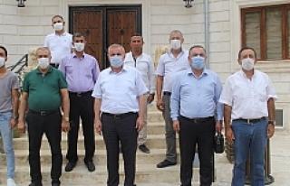 Esnaflar ve Tekstilciler Başkan Şahin'i Ziyaret...