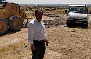 Muhtar Erol'dan yetkililere asfalt teşekkürü!