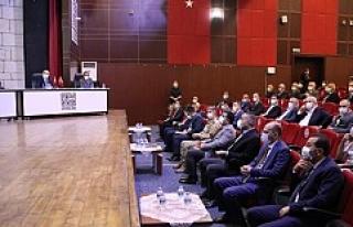 İl Koordinasyon Kurulu Vali Mahmut Demirtaş Başkanlığında...