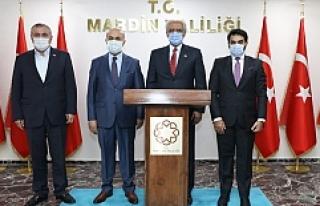 Kuveyt Ankara Büyükelçisi Al-Zawawi Vali Mahmut...