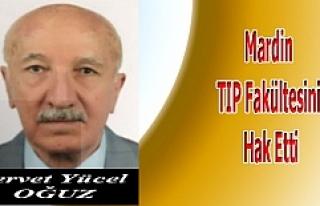 Mardin TIP Fakültesini Hak Etti