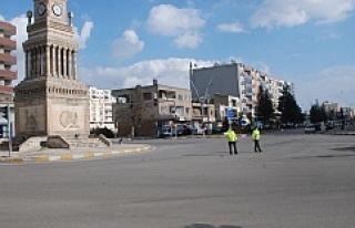 Midyat'ta Hafta sonu sokağa çıkma yasağına...