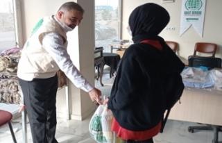 Umut Kervanı Gönüllü Anneleri'nin Gıda Paketleri...