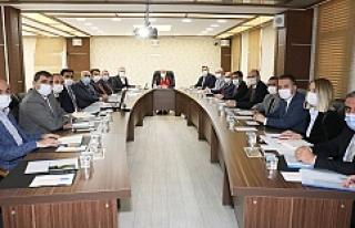 Vali Demirtaş, Belediye Başkanları İle Bir Araya...