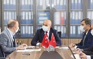 """Vali Demirtaş: """"Kızıltepe'nin içmesuyu sorununu..."""