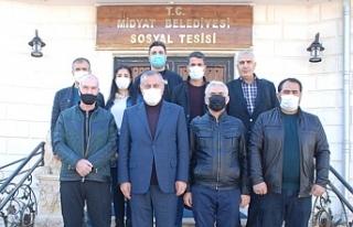 Başkan Şahin, 10 Ocak Gazeteciler Gününü Pasta...