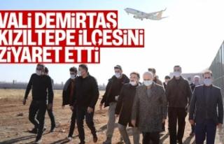 Vali Demirtaş, Kızıltepe İlçesini Ziyaret Etti