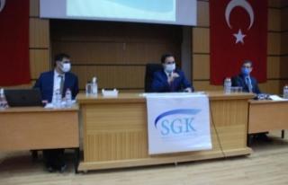 Mardin SGK' dan Tekstil sektörü temsilcilerne...