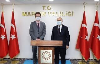 AB Türkiye Delegasyonu Başkanı Büyükelçi Meyer-Landrut'tan...