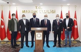 Cezayir'in Ankara Büyükelçisi'nden Vali...
