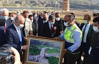 Cumhurbaşkanı Erdoğan, Hasankeyf-2 köprüsü açılışı...