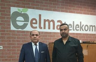 TISİAD Mardin İl Başkanlığı Mehmet Nebi Şahin'e...
