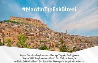 Mardin'in Hasretle Beklediği Tıp Fakültesi Mardin...