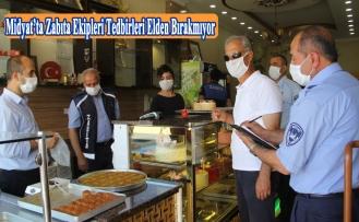 Midyat'ta Zabıta ekipleri tedbirleri elden bırakmıyor