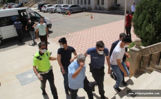 Midyat'ta Zabıtaya Mukavemet Gösteren 6 Kişiye Gözaltı