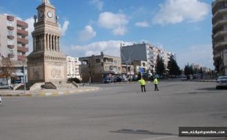 Midyat'ta Hafta sonu sokağa çıkma yasağına uyuldu