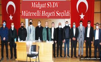 SYDV mütevelli heyeti seçildi