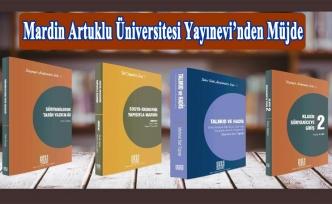 Mardin Artuklu Üniversitesi Yayınevi'nden Müjde