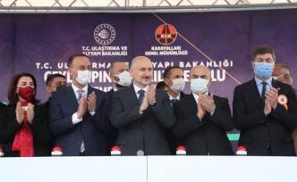 Kızıltepe-Ceylanpınar Karayolunun Temel Atma Töreni