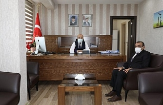 Başkan Dişkaya'dan Mardin Valisi Demirtaş'a Ziyaret
