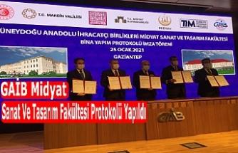 Midyat Sanat Ve Tasarım Fakültesi Protokolü Yapıldı