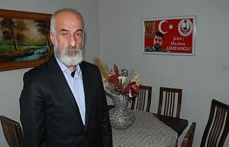 Midyat'ta şehit babasından İçişleri Bakanı Soylu'ya destek