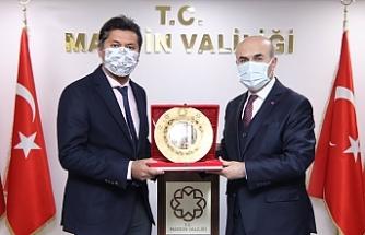 Sri Lanka'nın Ankara Büyükelçisi Hassen'den Vali Demirtaş'a Ziyaret