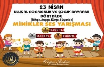 Midyat Belediyesi, 23 Nisan temalı müzik yarışması düzenliyor