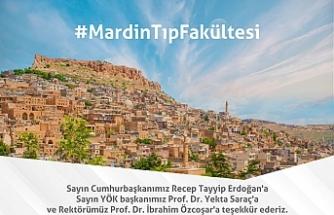 Mardin'in Hasretle Beklediği Tıp Fakültesi Mardin Artuklu Üniversitesi Bünyesinde Kuruldu