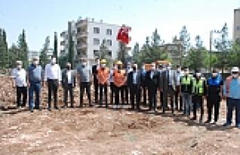 Midyat Belediyesi kültür ve kongre merkezinin temeli atıldı