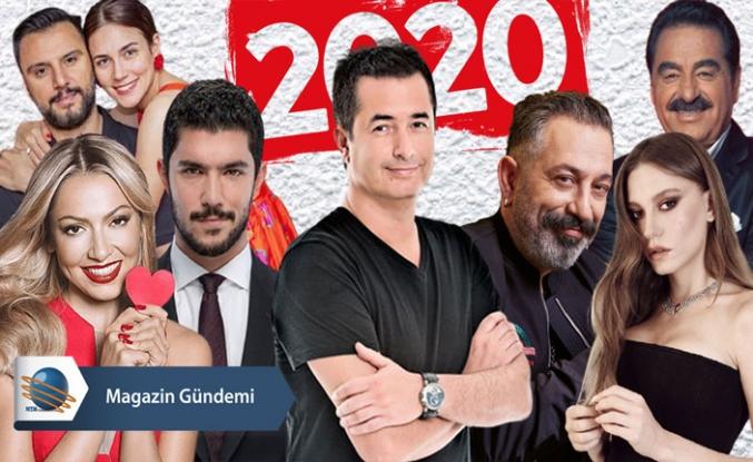 Magazin ve sanat camiasında 2020 Yılı böyle geçti!