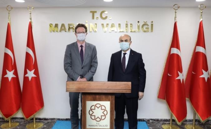 AB Türkiye Delegasyonu Başkanı Büyükelçi Meyer-Landrut'tan Vali Demirtaş'a Ziyaret