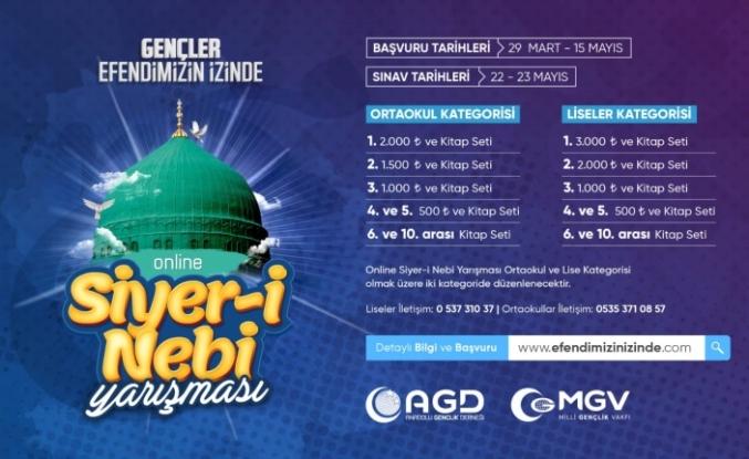 AGD, Online Siyer-İ Nebi Yarışması Düzenliyor