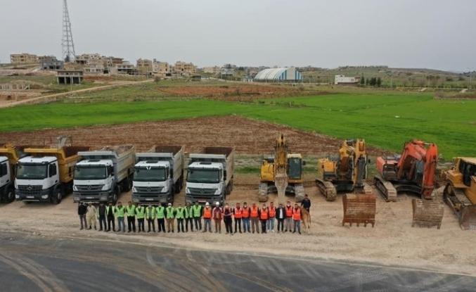 Mardin Midyat bölünmüş yol çalışmalarına başlandı