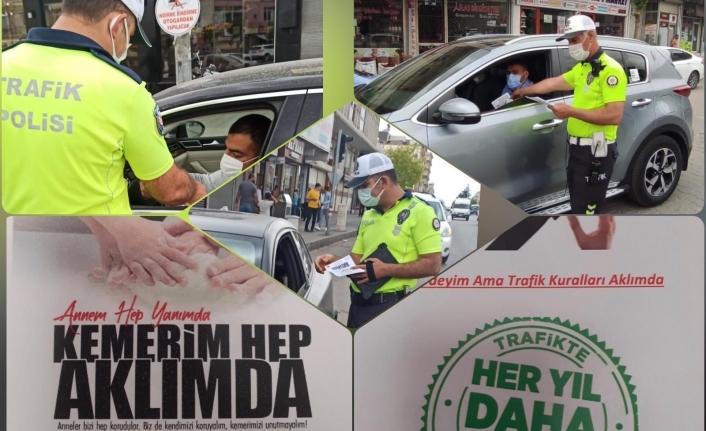 Trafik Haftası dolayısıyla Midyat'ta sürücüler bilgilendirildi