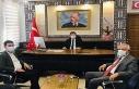 Başkan Aksoy'dan, Yeni Kaymakam Özbay'a Hayırlı...