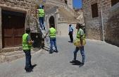 Midyat'ta Cadde ve sokak tabelaları yenileniyor