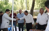 Savur'da, Resmi Bayramlaşma Programı Yoğun Bir Katılımla Gerçekleşti