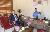 Belediye Başkanı Şahin'den, Engelliler Derneğine Ziyaret